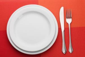 Nutritionists advise against placing FDA-approved ingredients on this plate.