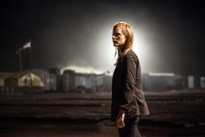 Jessica Chastain plays a member of the elite team of spies and military operatives stationed in a covert base overseas in Columbia Pictures' thriller, Zero Dark Thirty.