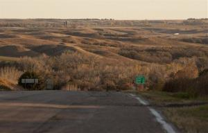 This 2010 file photo  shows the Sand Hills near Mills, Neb., an environmentally sensitive area. The new pipeline route would bypass it.