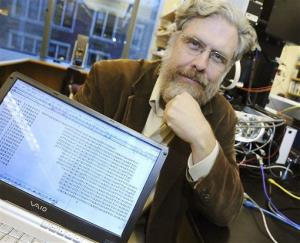 In this Oct. 20, 2008 file photo, Harvard Medical School genetics professor George Church poses for a photo.