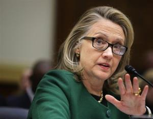 Secretary of State Hillary Rodham Clinton testifies on Capitol Hill Wednesday.