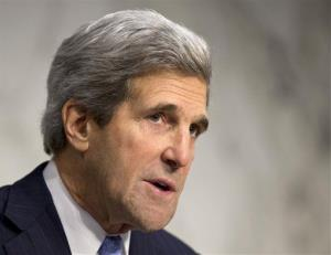 In this Dec. 20, 2012 file photo, John Kerry is shown on Capitol Hill in Washington.