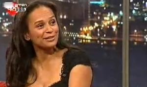 A frame grab from YouTube video of Isabel dos Santos.