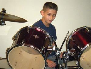 This undated photo provided by Eric Griego shows Nehemiah Griego.