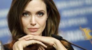 In this Feb. 11, 2012, file photo, Angelina Jolie attends the news conference of the film In the Land of Blood and Honey at the 62 edition of the Berlinale International Film Festival in Berlin.