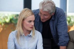 This image released by Relativity Media shows Kate Bosworth, left, and Richard Gere in a scene from Movie 43.