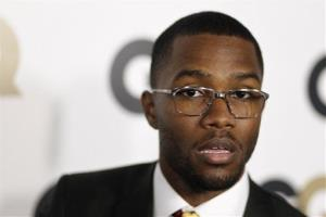 This Nov. 17, 2011 file photo shows musician Frank Ocean at the 16th annual GQ Men of the Year party in Los Angeles.