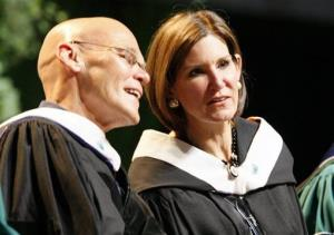 James Carville and Mary Matalin in a 2008 file photo.