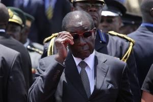 Zimbabwe's government account barely has enough money to buy President Robert Mugabe new shades.