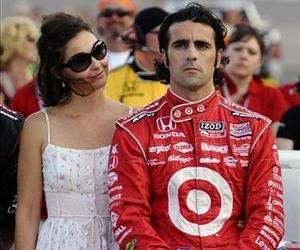 Actress Ashley Judd, left, stands with her husband, driver Dario Franchitti.