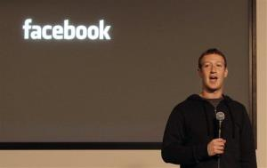 Facebook CEO Mark Zuckerberg speaks at Facebook headquarters in Menlo Park, Calif., on Jan. 15.