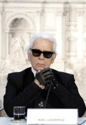 Karl Lagerfeld is judging you.