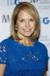 In this April 23, 2012, file photo, Katie Couric arrives to the Matrix Awards in New York.