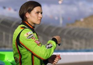 Danica Patrick at Phoenix International Raceway in Avondale, Ariz., in November.