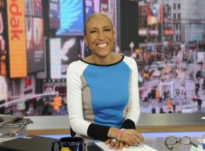 This Jan. 24, 2013 photo released by ABC shows Robin Roberts on Good Morning America, in New York.