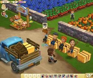 This undated image provided by Zynga shows a screenshot of Farmville 2.