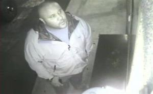 This image provided by the Irvine Police Department shows Christopher Dorner in surveillance video at an Orange County, Calif., hotel on Jan. 28.