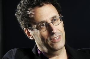 In this April 30, 2009 photo, Tony Kushner is shown at the Guthrie Theatre in Minneapolis, Minn.