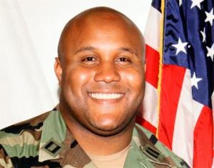 This undated photo released by the Los Angeles Police Department shows suspect Christopher Dorner, a former Los Angeles officer.