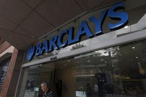 A view of a Barclay's bank branch in central London, Friday, June 28, 2012.