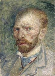 Vincent Van Gogh's 1887 painting Self-portrait.