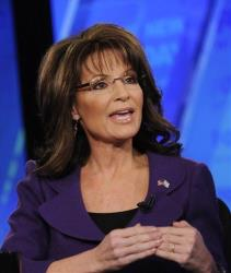 In this Sunday, Feb. 12, 2012 file photo provided by Fox News, former Alaska Gov. Sarah Palin talks on Fox News Sunday in Washington.