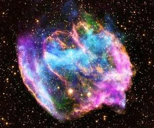 This image from NASA shows Supernova remnant W49B.