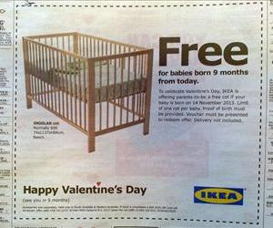 An image of Ikea's new ad.