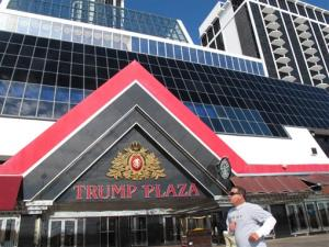 The Trump Plaza Hotel and Casino in Atlantic City N.J.