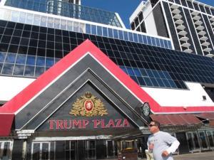 The Trump Plaza Hotel and Casino in Atlantic City N.J.