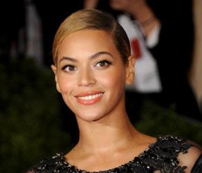 This May 7, 2012, photo shows Beyonce Knowles at a Metropolitan Museum of Art benefit.
