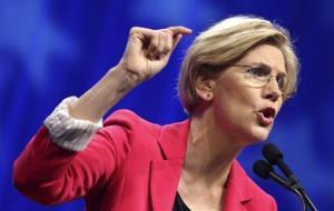 A file photo of Sen. Elizabeth Warren.