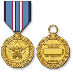 The Distinguished Warfare medal is the first new force-wide medal for combat achievement since the Bronze Star in 1944.