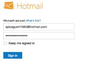 Goodbye, Hotmail.