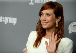Kristen Wiig arrives at the 15th Annual Costume Designers Guild Awards Feb. 19 in Beverly Hills.