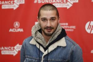 Cast member Shia LaBeouf poses at the premiere of The Necessary Death of Charlie Countryman during the 2013 Sundance Film Festival on Monday, Jan. 21, 2013 in Park City, Utah.