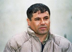 Mexico's biggest drug lord Joaquin Guzman Loera, shown here in a photo from June 10, 1993.