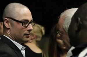 Carl Pistorius after brother Oscar's bail application appearance, at the magistrate court in Pretoria, South Africa, Friday, Feb. 15, 2013.