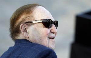 CEO of Las Vegas Sands Corp. Sheldon Adelson.