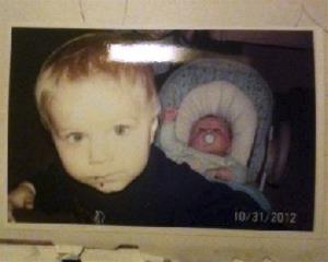 This photo released by the Connecticut State Police during an Amber Alert Tuesday, Feb. 26, 2013, shows Alton and Ashton Perry.