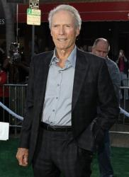 Clint Eastwood attends the premiere of Trouble With the Curve at the Westwood Village Theater on Wednesday, Sept. 19, 2012, in Los Angeles.