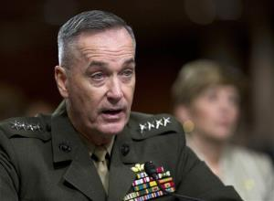 Marine Gen. Joseph Dunford, Jr. testifies on Capitol Hill in Washington, Thursday, Nov. 15, 2012, before the Senate Armed Services Committee hearing.