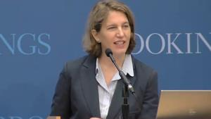 Sylvia Burwell, said to be President Obama's choice for budget chief.