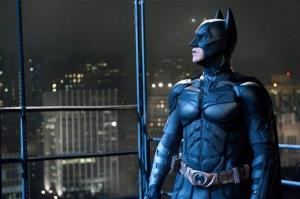In this file film image provided by Warner Bros., Christian Bale portrays Bruce Wayne and Batman.