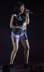 Canadian singer Carly Rae Jepsen performs at the o2 Arena in east London, Monday, March 4, 2013.