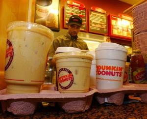 Dunkin' Donuts coffee: It's good for more than just waking up in the morning.