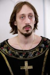 Russian dancer Pavel Dmitrichenko is seen after a dress rehearsal of Ivan the Terrible .