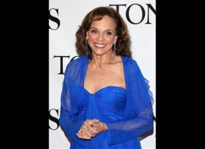 In this June 13, 2010 photo, Valerie Harper arrives at the 61st Annual Tony Awards in New York.