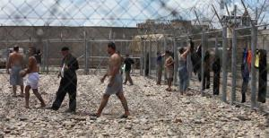 Iraqi prisoners are seen at al-Muthanna prison in Baghdad, Iraq, May 2, 2010.