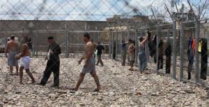 Iraqi prisoners are seen at al-Muthanna prison in Baghdad, Iraq, May 2, 2010.